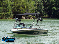 1997 Correct Craft Sport Nautique with Assault Wakeboard Tower