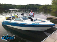 1989 Wellcraft 220 Elite with Assault Wakeboard Tower