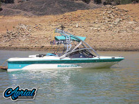 1990 ProStar 190 with Assault Wakeboard Tower