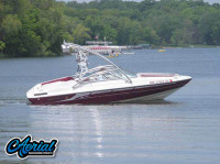 1995 Mariah Barchetta 182 with Assault Wakeboard Tower