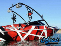 1995 Sunbird with Assault Wakeboard Tower