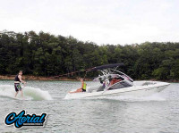 2000 Tige 21V with Assault Wakeboard Tower