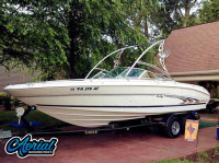 1998 Sea Ray 230 BR with Assault Wakeboard Tower