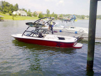 1998 Moomba Outback with Assault Tower