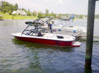 1998 Moomba Outback with Assault Wakeboard Tower