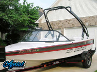 1995 Ski Nautique with FreeRide Wakeboard Tower