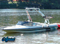 1993 Malibu Flightcraft Sportster with FreeRide Wakeboard Tower