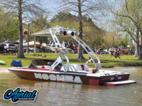1999 Moomba Boomerang with FreeRide Wakeboard Tower