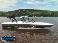 1998 Air Nautique with FreeRide Wakeboard Tower