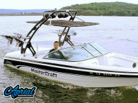 1999 Mastercraft ProStar 205 with FreeRide Tower