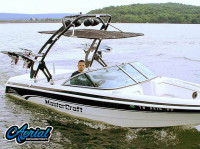 1999 Mastercraft ProStar 205 with FreeRide Wakeboard Tower