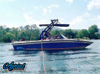 1990 Supra Sunsport with FreeRide Wakeboard Tower