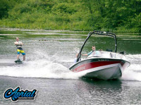 1999 Correct Craft Ski Nautique with FreeRide Wakeboard Tower