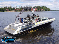 1988 Four Winns Horizon 200 with FreeRide Wakeboard Tower