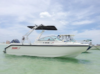 2001 Boston Whaler Ventura 21 with FreeRide Tower