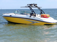 2013 Rinker 246 cc with FreeRide Tower