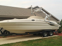 2001 Sea Ray Sundeck with FreeRide Tower