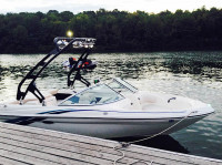 Sea Ray Wakeboard Tower Gallery | Aerial Wakeboarding