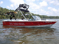 1985 Correct Craft Ski Nautique with FreeRide Wakeboard Tower