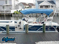 2012 Godfrey AquaPatio Coastal Edition with F250 Pontoon Tower