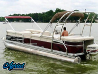 2000 Bennington 2575LX with F250 Pontoon Tower
