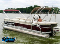 2000 Bennington 2575LX with F250 Pontoon Wakeboard Tower