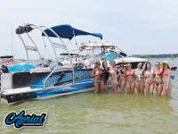 2008 Hurricane Fun Deck with F250 Pontoon Tower