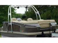 2014 Larson Escape  with F250 Pontoon Tower
