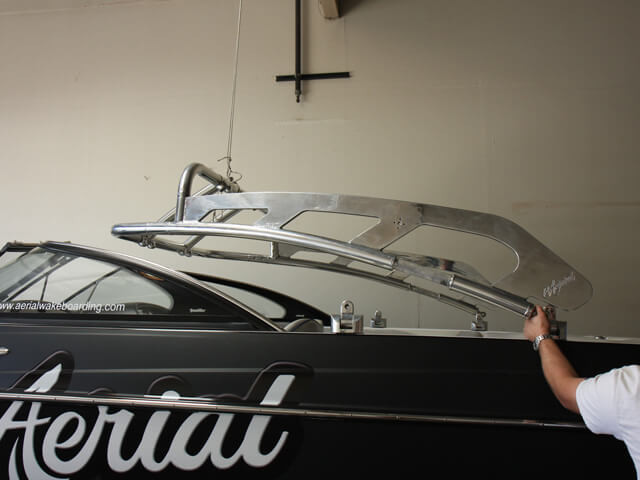 How to install a wakeboard tower