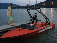 1995 Moomba Boomerang with Freeride Wakeboard Tower