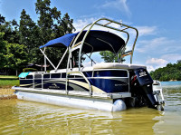 2011 Bennington Pontoon with F250 Pontoon Tower