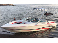 1995 Baja Islander 208 with Airborne Wakeboard Tower