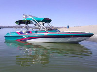 1996 Essex Sterling with Airborne Wakeboard Tower