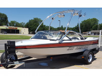 1995 Correct Craft Ski Nautique with Airborne Wakeboard Tower