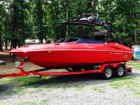 2010 Crownline 21ss with Freeride Tower