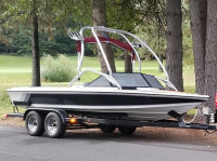1988 Ski Sanger with Airborne Wakeboard Tower