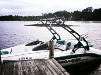1997 Sea Doo Challenger 1800 with FreeRide Wakeboard Tower