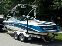 1995 Mastercraft 225 VRS with Ascent Wakeboard Tower