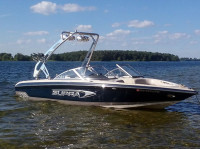 2004 Supra Santera with FreeRide Wakeboard Tower