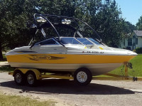 2007 Seaswirl 210 with Airborne Wakeboard Tower
