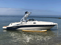 2004 Sea Ray 240 Sundeck  with FreeRide Wakeboard Tower