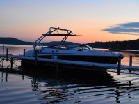 2012 Larson 258 with FreeRide Wakeboard Tower