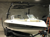 2000 Tige 23v with FreeRide Wakeboard Tower