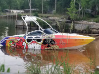 2007 Stingray LX220 with Airborne Wakeboard Tower