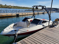 2007 Chaparral 210 SSI with FreeRide Wakeboard Tower