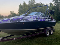 1993 Crownline 225 with Ascent Wakeboard Tower