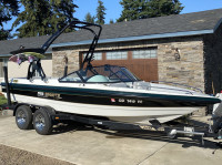 1998 MB Sports Boss 210  with FreeRide Wakeboard Tower