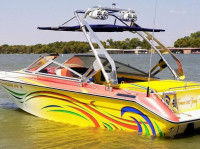 "1987 Sea Ray Sorrento 21"" with FreeRide Wakeboard Tower"