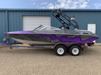 1993 Renken Classic 210 with FreeRide Wakeboard Tower