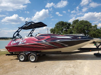 2000 Playcraft DSV 250 Deckboat with FreeRide Wakeboard Tower